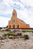De kerk van heilige Willibrordus in Curacao Stock Afbeeldingen