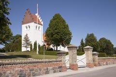 De Kerk van het dorp Royalty-vrije Stock Afbeeldingen