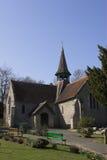 De kerk van het dorp Stock Foto