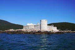 De Kerk van het eiland Stock Foto