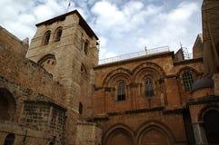 De Kerk van het Heilige Grafgewelf Jeruzalem israël Royalty-vrije Stock Foto