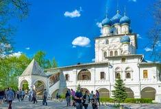 De Kerk van het Kazan pictogram van Moeder van God in Kolomenskoye Stock Afbeelding