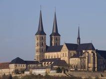 De kerk van het klooster stock afbeeldingen