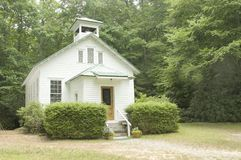 De kerk van het land Stock Foto's