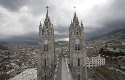 De Kerk van het Quito royalty-vrije stock foto