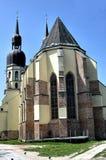 De kerk van het Saint Nicolas in Trnava Stock Afbeelding