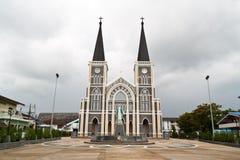 De kerk van het standbeeld Stock Fotografie