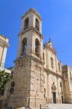 De Kerk van het vagevuur. Palo del Colle. Apulia. stock fotografie