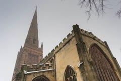 De Kerk van de Holldrievuldigheid, Broadgate, Coventry, Engeland royalty-vrije stock foto's