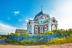 De Kerk van de Interventie van Heilig Virgin Villag stock foto's
