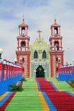 De kerk van Ixtacuixtla Royalty-vrije Stock Afbeeldingen