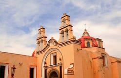 De kerk van Ixtacuixtla Stock Fotografie