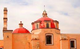 De kerk van Ixtacuixtla Stock Afbeelding