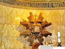 De Kerk van Jeruzalem van Al Naties Hoofdaltaar 2012 stock afbeelding