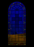 De kerk van Kerstmis Vector Illustratie