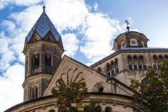 De kerk van Keulen St. Aposteln Stock Foto