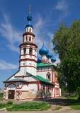 De Kerk van Korsunskaya in Uglich Royalty-vrije Stock Fotografie