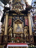 De Kerk van Krakau - van Corpus Christi - Polen Stock Foto