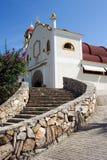 De Kerk van La Crucecita Stock Afbeeldingen