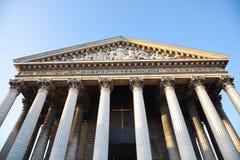 De kerk van La Madeleine, Parijs royalty-vrije stock fotografie