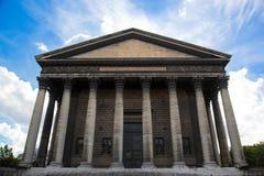De kerk van La Madeleine, Parijs, Frankrijk. Stock Afbeelding
