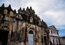 De Kerk van La Merced, Granada, Nicaragua royalty-vrije stock afbeelding