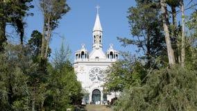 De kerk van La Salette stock video