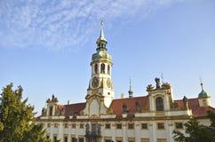 De kerk van Loreta van Praag Stock Fotografie