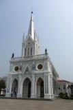 De Kerk van Maagdelijke Mary van Asanawihan Maephrabangkerd Stock Foto's