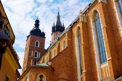 De kerk van Mariacki Royalty-vrije Stock Foto's