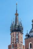 De Kerk van Mariacki Royalty-vrije Stock Afbeeldingen