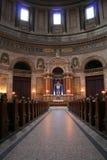 De kerk van Marmorkirken marple Stock Afbeelding