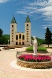 De kerk van Medugorje Royalty-vrije Stock Foto's