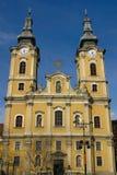 De kerk van Miskolc Stock Foto's