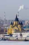 De Kerk van Nizhegorodskaya Royalty-vrije Stock Afbeeldingen