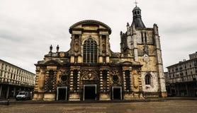 De Kerk van Notre Dame stock afbeelding