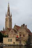 De Kerk van Onze Dame in Brugge royalty-vrije stock foto's