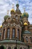 De kerk van Onze Verlosser op Gemorst Bloed Royalty-vrije Stock Foto's