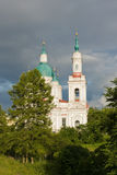 De kerk van Ortodox Stock Afbeeldingen