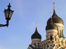 De kerk van Ortodox Stock Foto's