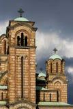 De kerk van Ortodox Stock Afbeelding