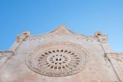 De kerk van Ostuni Stock Foto's