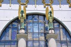 De Kerk van Otto Wagner, Wenen Royalty-vrije Stock Afbeelding