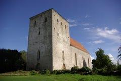 De kerk van Pöide Stock Fotografie
