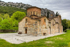 De kerk van Panagia van Porta, Thessaly, Griekenland Royalty-vrije Stock Afbeeldingen