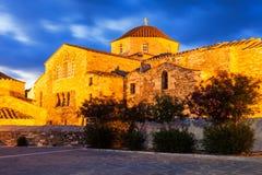 De Kerk van Panagiaekatontapyliani, Paros Royalty-vrije Stock Foto's