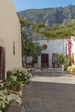 De Kerk van Panagiaepiskopi in Santorini-eiland, Thira, Cycladen, Griekenland royalty-vrije stock fotografie