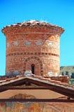 De kerk van Panagiakoumbelidiki, Kastoria, Griekenland stock foto's