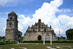 De Kerk van Paoay Royalty-vrije Stock Afbeelding