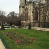 De kerk van Parijs Stock Afbeelding